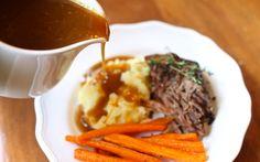pot roast with gluten free gravy