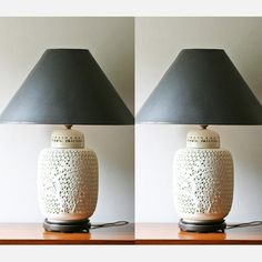 absolutely love this lamp :: Blanc de Chine Lamps Set of 2 by Modish Vintage
