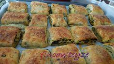 Fincan Teyze: Ispanaklı Dilim Börek