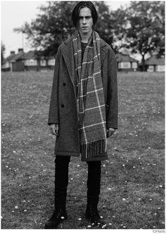 Topman Champions Overcoat for Fall/Winter 2014 Coat Campaign image Topman Coat Fall 2014 Campaign 005