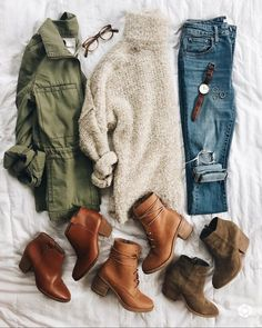 Stitch Fix Stylist: Ich liebe alles auf diesem Bild. Ich mag Pullover, die Stitch Fix Stylist: I love everything in this picture. I like sweaters that … Mode Outfits, Casual Outfits, Fashion Outfits, Womens Fashion, Dress Casual, Casual Shoes, Fashion Boots, Jeans Fashion, Party Outfits