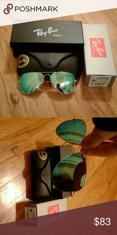 BN Ray-Ban RB3025 58m blue lenses gold frame 112/19.. yes authentic and have sold over 90 on here with rave reviews. I pass my deal on, no lowball offers please as I make a small profit. These retail for almost double the price. Discount for multiple purchases and see contact me with questions or even concern. I pride myself on a great rating. Thank you! Ray-Ban Accessories Sunglasses