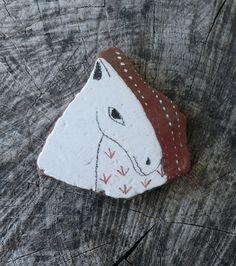 Large Beach Pottery Horse by LillaJizo on Etsy