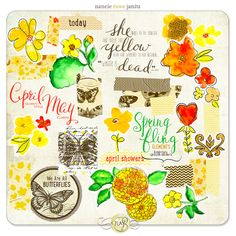Snap Click Supply Co. - Spring Fling Element Pack, $2.99 (http://www.snapclicksupply.com/new/spring-fling-element-pack/)   Nancie Rowe Janitz Designs