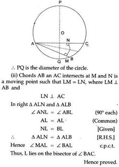 ICSE Solutions for Class 10 Mathematics - Locus and Constructions - A Plus Topper Maths Ncert Solutions, Isosceles Triangle, Study Materials, Mathematics, Textbook, Biology, Chemistry, Physics, Science
