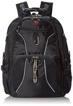 SwissGear SA1923 Black TSA Friendly ScanSmart Computer Backpack - Fits Most 15 Inch Laptops and Tablets