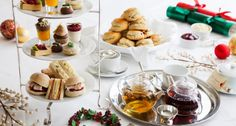 Afternoon tea | Decadent Christmas Afternoon Tea At The Capital Hotel, London