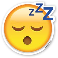 Sleeping Face | Emoji Stickers