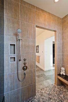 Bathmaster Nanaimo design gallery - bathroom | marazzi usa like the border on the