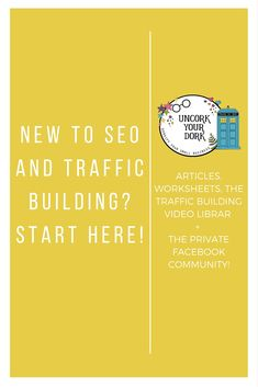 Join the Uncork Your Dork blogging community for Wordpress and SEO tips, tricks and traffic building secrets! Downloads, articles, videos and a private community are all yours...FREE! Click the image to check it out!