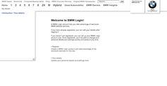 BMW Login