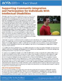 Supporting individuals with intellectual disabilities in community integration and participation. Speech Therapy Autism, Occupational Therapy, Types Of Mental Health, Mental Retardation, Therapy Journal, School Ot, Developmental Disabilities, Disability Awareness, Physical Activities
