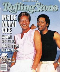 Philip Thomas - Rolling Stone Magazine [United States] (28 March 1985)