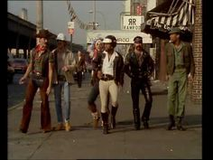 Village People - YMCA OFFICIAL Music Video 1978  (How can this video not put a smile on your face lol?)