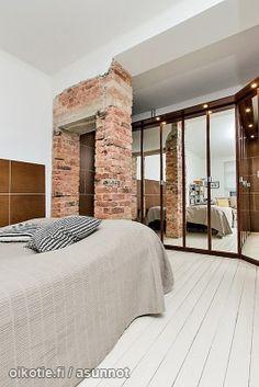 Myytävät asunnot, Maariankatu 5 C Keskusta Turku #oikotie #oikotieasunnot #makuuhuone