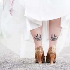 10 Ways to Rock a Tattoo on Your Wedding Day