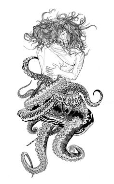 Octopussies by Tavo Montañez, via Behance