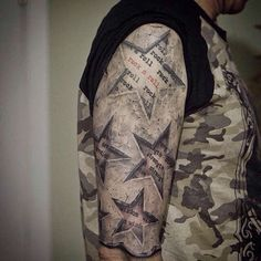 Unique Star Tattoos and Designs 2017