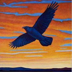 Raven Art of Brian Commerford - Aves Noir | Aves Noir