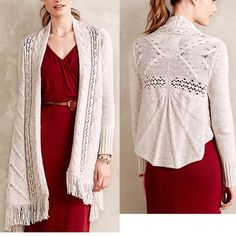 31dd54f37cf Anthropologie Sweaters - Anthropologie Anais Cardigan Angel of the North M Sweater  Cardigan