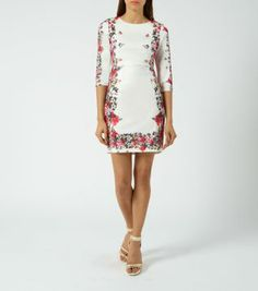 The perfect occasion piece - keep accessories to a minimum, and finish off this chic bodycon dress with ankle strap heels. I actually adore this dress! New Look Fashion, Teen Guy Fashion, Womens Fashion, Perfect Wardrobe, Lovely Dresses, Half Sleeves, Pretty Outfits, Fashion Online, Bodycon Dress