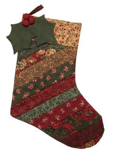 Free Strip Stocking Pattern at Quilt in a Day!
