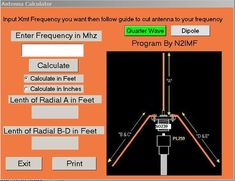 analyzer that will show you what happens when you make changes. If you do have an antenna analyzer then you have an advantage over many others that do not have one. Radios, Ham Radio Antenna, Audio Sound, Diy Electronics, Calculator, Hams, Design, Communication, Hobbies