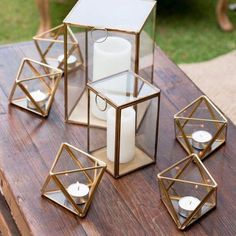 Gold Geometric Triangle Glass candleholder Candle Holder Terrarium Vase – My Wedding Dream Geometric Candle Holder, Gold Candle Holders, Gold Candles, Terrarium Centerpiece, Glass Terrarium, Centerpiece Flowers, Buy Terrarium, Terrarium Ideas, Centerpiece Ideas