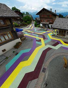 street painting. lang baumann