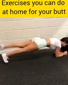 Exercice fessier maison - Real Time - Diet, Exercise, Fitness, Finance You for Healthy articles ideas Fitness Workouts, Easy Workouts, Fitness Motivation, Fitness Games, Butt Workouts, Exercise Motivation, Ab Workout For Women At Home, Ab Workout At Home, At Home Workouts