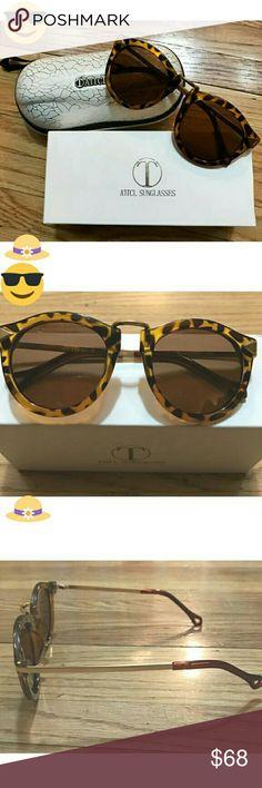 🆕🎉NWT 🌟 ATTCL Brand Leopard 🐯 SUNGLASSES😎 Brand New ✨ ATTCL Accessories Glasses