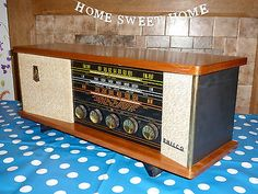 Vintage 1958 PHILCO Century 100 Valve Radio, Working Splendid, Antique, Retro