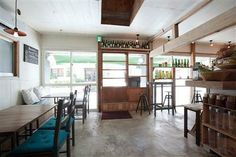 古民家をリノベーションしたカフェ