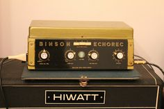 Vintage Guitar Effects, Pedals and Stompboxes: Binson Echorec B2
