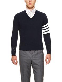 Thom Browne- Striped Wool Sweater, eb