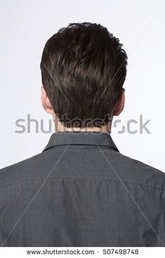 Rear View Back Mans Head Shoulders Stock Photo 107802953 ...