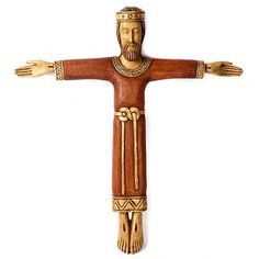 Cristo Sacerdote y Rey madera | venta online en HOLYART