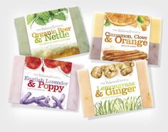 Concept Before & After: The Bakewell SoapCompany - The Dieline -