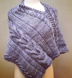 Online yarn store for knitters and crocheters. Designer yarn brands, knitting patterns, notions, knitting needles, and kits. Shop online or call Poncho Knitting Patterns, Knitted Poncho, Knitted Shawls, Lace Knitting, Knitting Designs, Knit Crochet, Knitting Needles, Knitting Ideas, Puffer Vest Outfit
