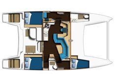 C42 Owner Version Plan #theyachtowner #theyachtownernet #catamarans