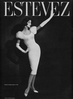 : myvintagevogue » 1950's » Estevez 1959 - Photo by Betty Estevez