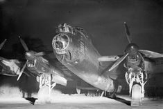 Lancaster I of No 44 Squadron at Dunholme Lodge, Lincolnshire, before setting out for Berlin on 2 January Ww2 Aircraft, Military Aircraft, Ww1 Battles, Battle Of The Somme, Lancaster Bomber, Royal Air Force, Luftwaffe, World War Ii, Wwii