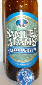 Samuel Adams Latitude 48 IPA - Boston Beer Company (Samuel Adams) - Jamaica Plain, MA