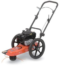 String Trimmer Mower - Pro Trimmer - trim weeds around buidings, trees and fences - DR Power Equipment Amazing Gardens, Beautiful Gardens, Stump Grinder, Grass Cutter, Wood Chipper, Walk Behind, Wood Logs, Outdoor Venues, Garage Organization