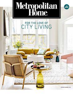 It's back: Metropolitan Home magazine reinvents itself.
