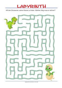 Labyrinth Maze Design for Kids Ideas 2019 - Tipss und Vorlagen Mazes For Kids Printable, Fun Worksheets For Kids, Preschool Worksheets, Free Printables, Preschool Activities, Maze Games For Kids, Math For Kids, Maze Puzzles, Kids Puzzles