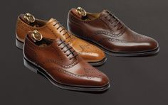 Royal brogues from Loake, have to get these on my shopping list