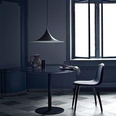 Semi Pendant Lamp - Black by Bonderup & Thorup by Gubi | MONOQI #DesignIcons