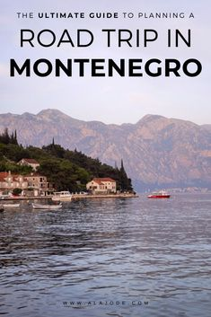How To Plan A Montenegro Road Trip To Remember. Montenegro is one of the most beautiful places in Europe and the best way to see it is on a road trip. Here's how to roadtrip Montenegro and where to stop on the way. Europe Travel Guide, Travel Guides, Travel Destinations, European Destination, European Travel, Montenegro Kotor, Montenegro Travel, Train Vacations, Berlin