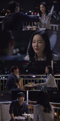 """[Spoiler] """"Falsify"""" Eom Ji-won and Namgoong Min have a heart-to-heart"""